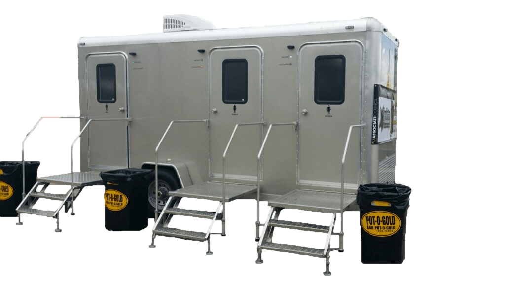 Luxury Mobile Restroom Trailer